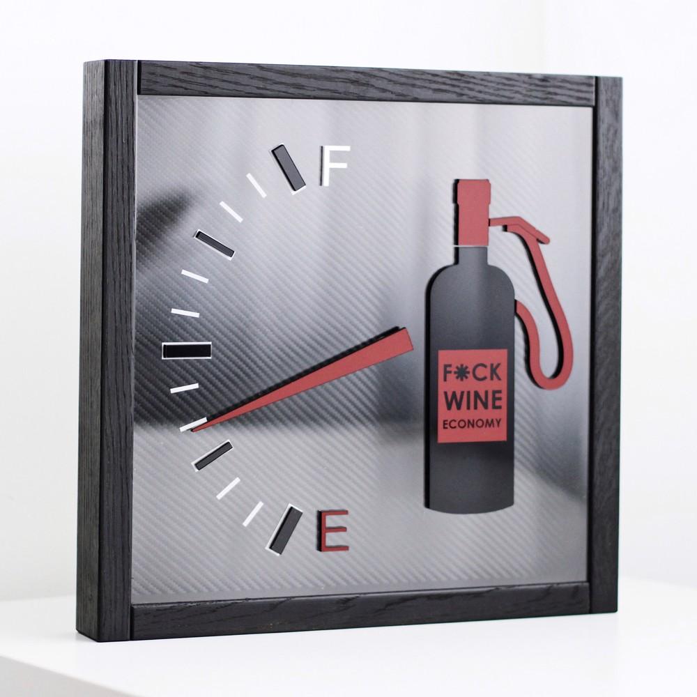"""Копилка для пробок """"F*ck wine economy"""""""