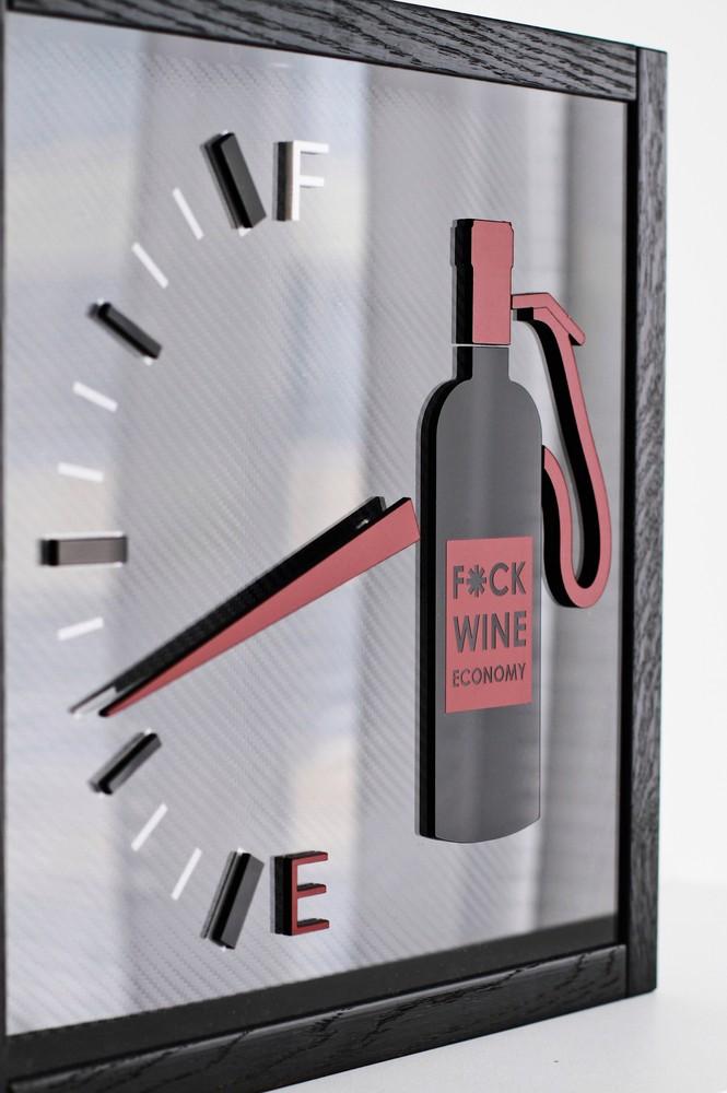 "Копилка для пробок от вина ""F*ck wine economy"""