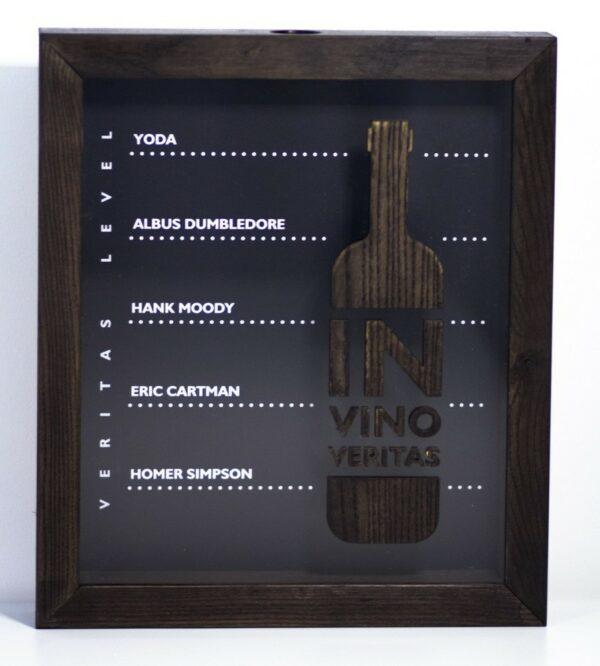 Копилка с уровнями для винных пробок
