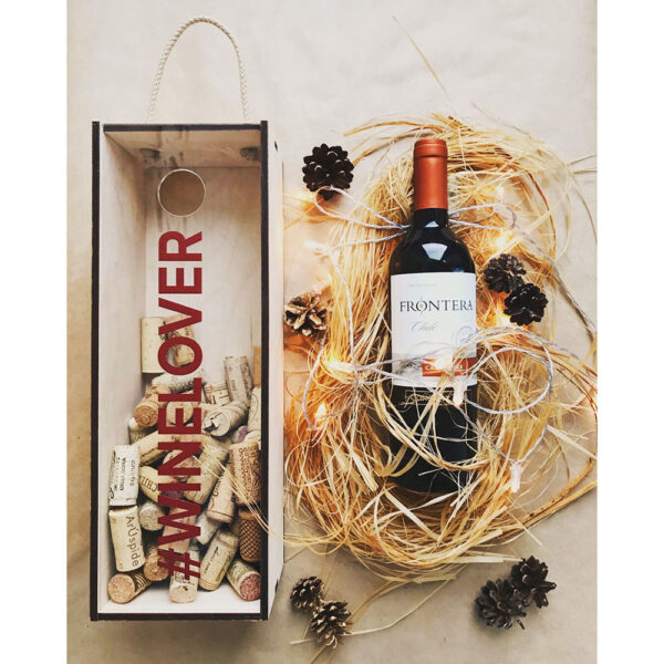 Коробка для бутылки WINELOVER
